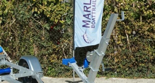Marlin Trailer BT 500 mit Maststütze