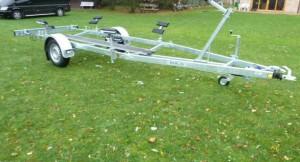 Trailer für Hubkieler Segelboote
